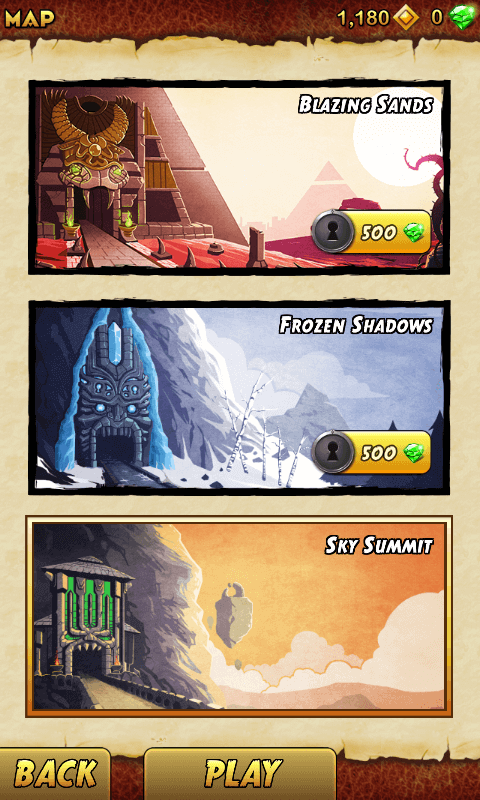 Temple Run 2-Tizen Mobile Game -
