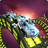 Roller Coaster Simulator Space-Adventure Game For Tizen Mobiles
