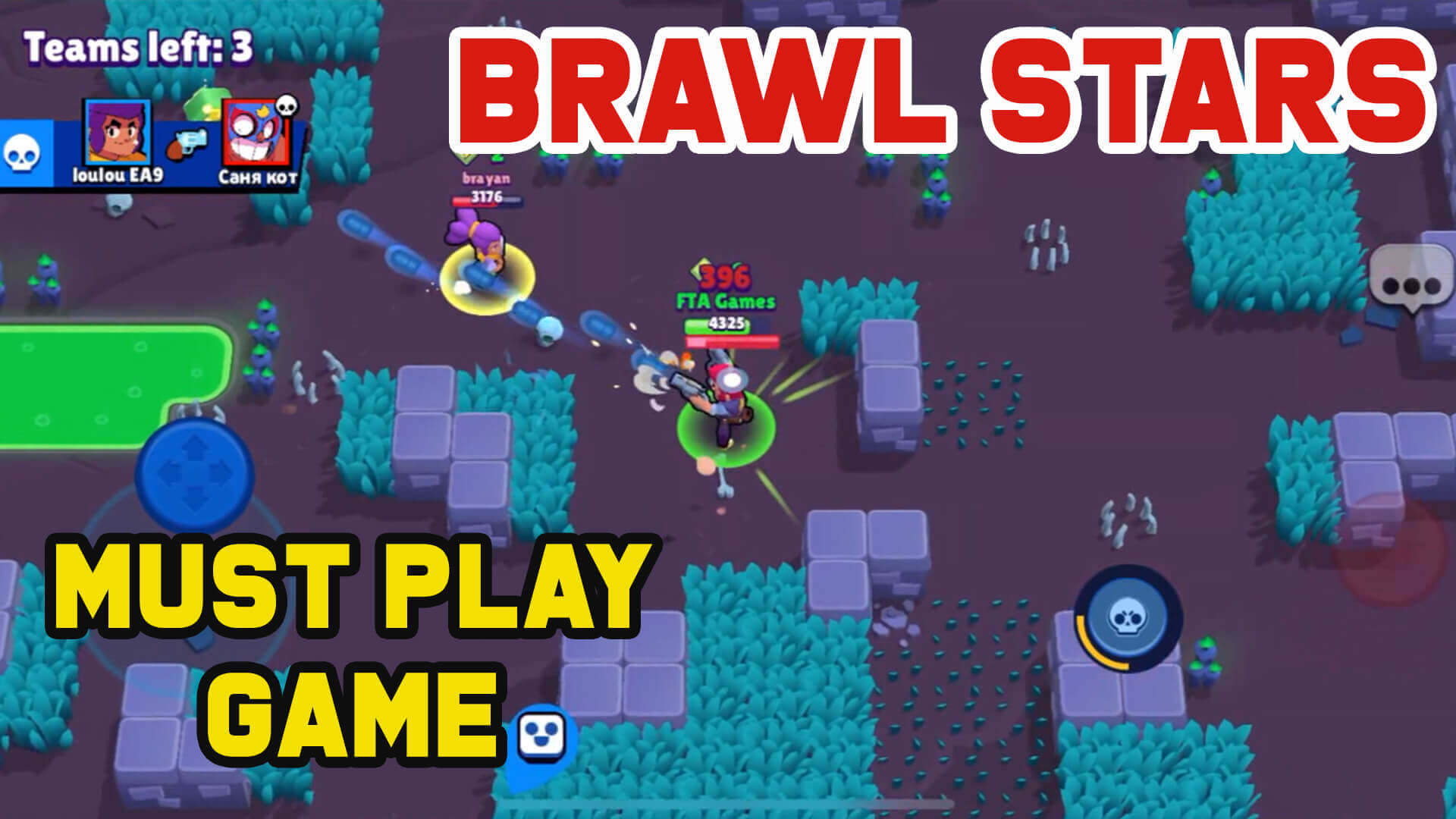 Brawl Stars-Must Have Action Game on Your Mobiles