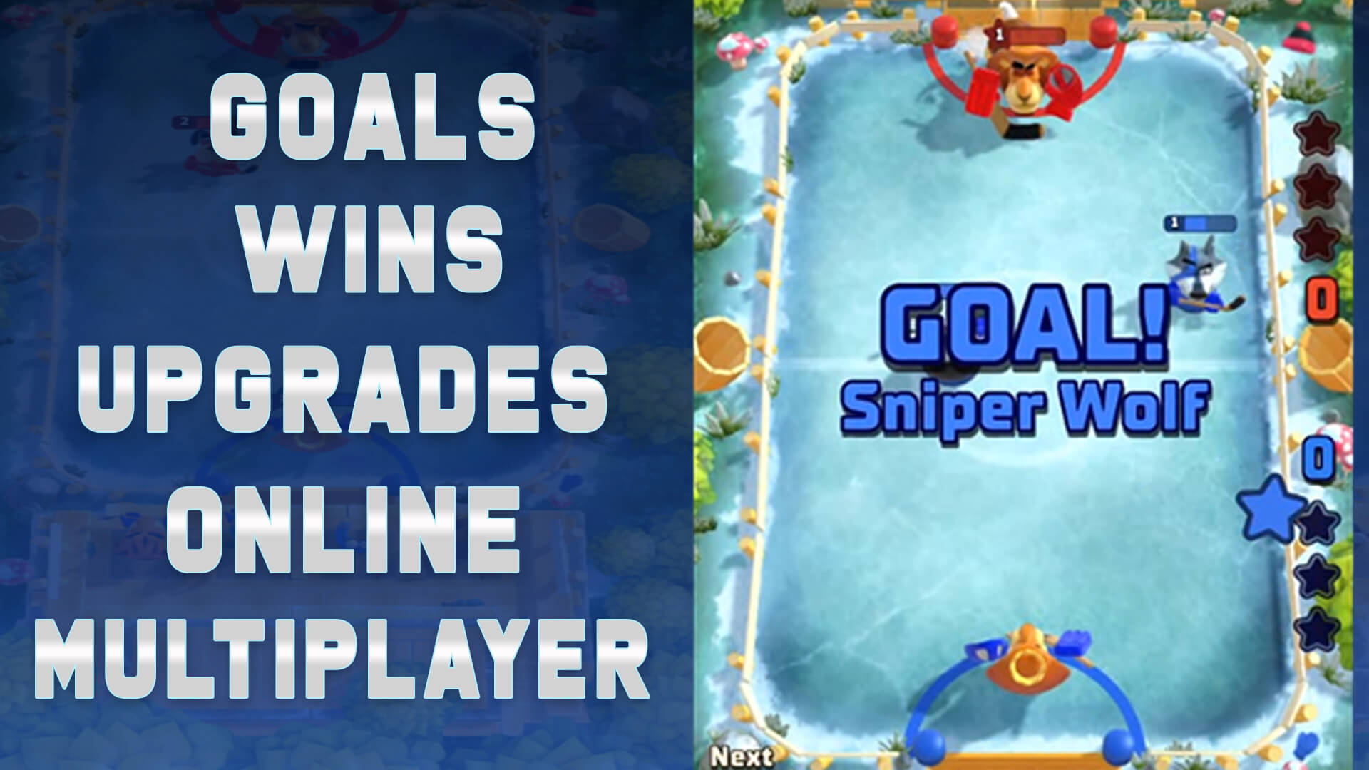 Rumble Hockey-Sports Mobile Game