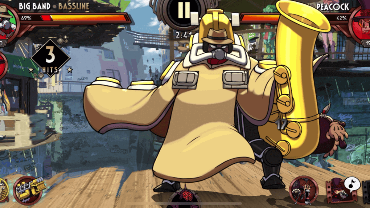 Skullgirls Big Band best mobile fighting game on Android