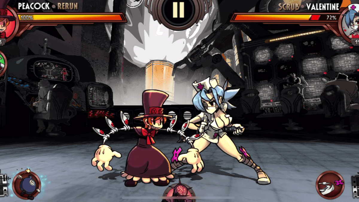 Skull Girls Game Start Fighting