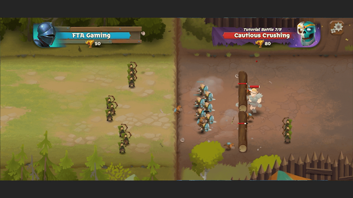 battle legion android game teams fighting